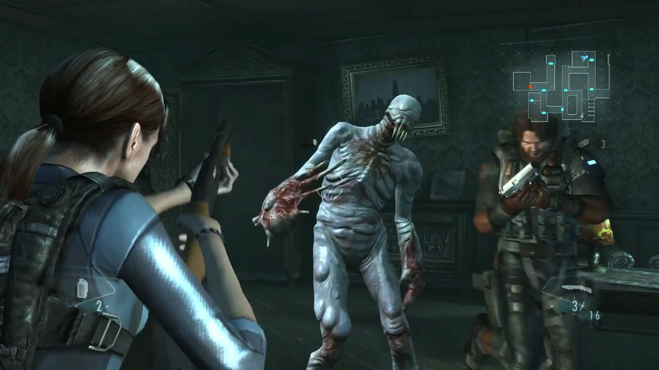 バイオハザード リベレーションズ PS4向け「バイオハザード リベレーションズ」 高解像度化で、ジルの尻もクッキリ!