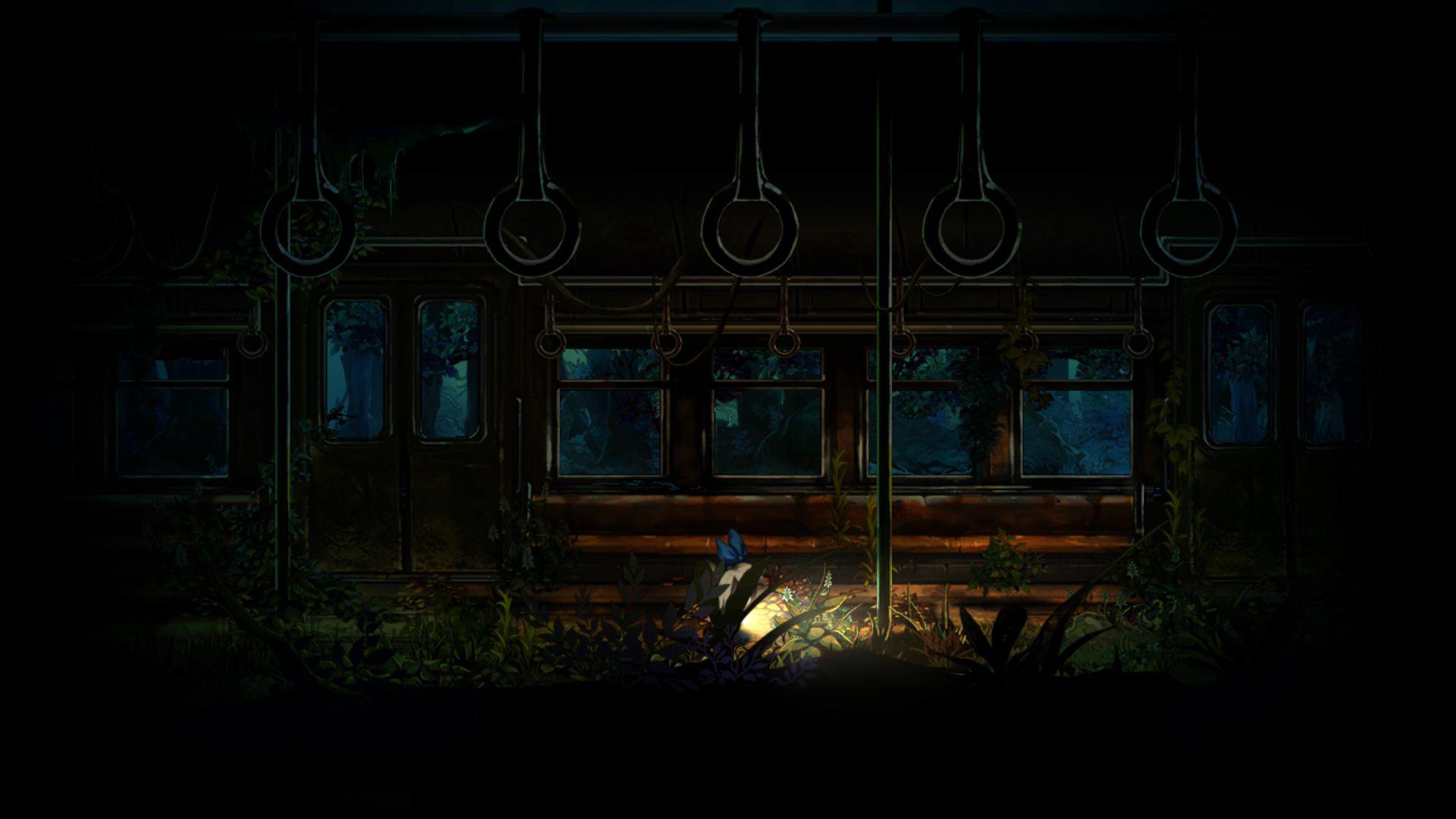 深夜廻 「深夜廻」のゲーム画面公開!ユイとハルがお互いを操作し探索を進める形式に