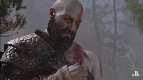 ゴッドオブウォー新作 PS4「ゴッドオブウォー新作」 髭もじゃクレイトスさん登場のE3 2017トレイラー公開へ