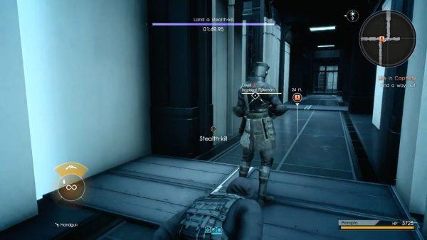 FF15 FF15エピソードプロンプトのプレイ動画、メタギアのようなプレイスタイルが可能