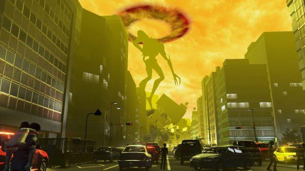 巨影都市 「巨影都市」迷惑すぎる巨大戦に巻き込まれる人々!それはそうと、キャラデザいいね