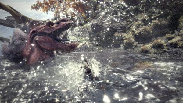 モンスターハンターワールド 「モンスターハンターワールド」新モンスター「賊竜ドスジャグラス」「蛮顎竜アンジャナフ」 エリアはシームレスに