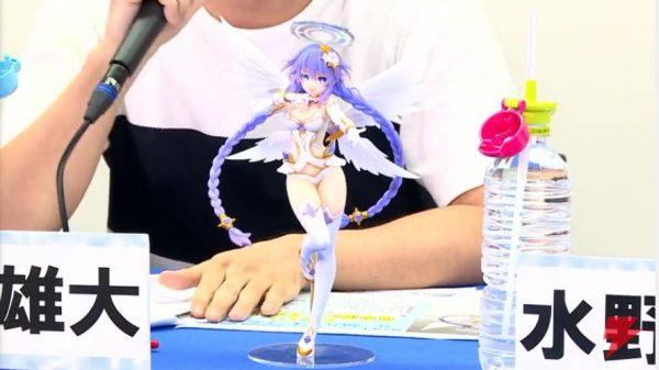 お尻 「四女神オンライン版パープルハート様」1/7フィギュアの出来が良すぎ!背中やお尻がキュート!