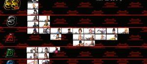 鉄拳7, お尻 鉄拳7女性キャラクターのデカ尻サイズを測ってみた結果。