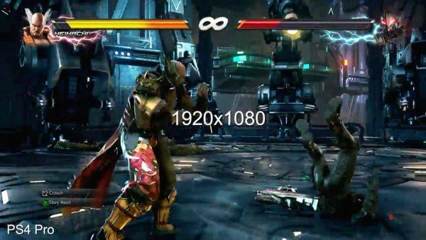 鉄拳7 鉄拳7グラフィック&ロード時間比較動画【PS4Pro・XboxOne・PC】