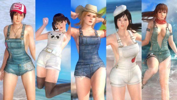 DOA5 DOA5真夏のどきどきセール開催、女性キャラクターに特化したラインナップ
