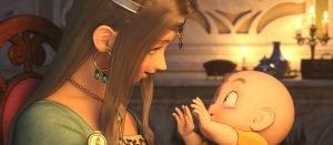 ドラゴンクエスト11、物語の始まり!プロローグ動画 幼いマルティナとロウとの出会い