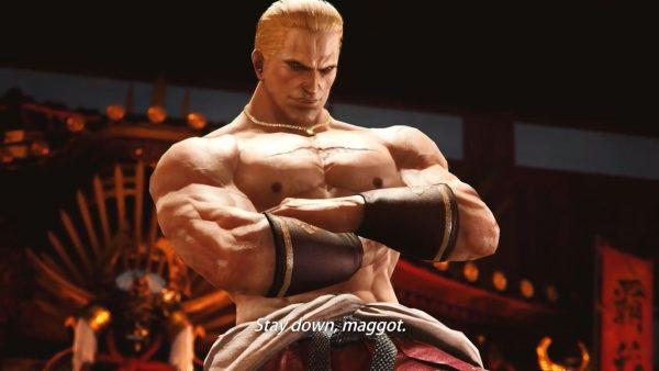 鉄拳7 THE KING OF FIGHTERS 鉄拳7のDLCゲストキャラの一人が「ギース・ハワード」に決定!