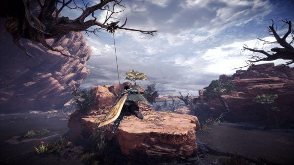 モンスターハンターワールド 【MHW】モンスターハンターワールド、砂漠っぽいマップ名は「大蟻塚の荒地」 画像大量
