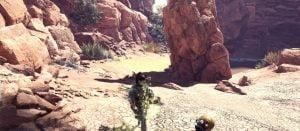 砂漠, モンスターハンターワールド, ボルボロス, ディアブロス 「モンハンワールド」砂漠マップ、ボルボロス、ディアブロス、新モンスターが確認できるPV第2弾