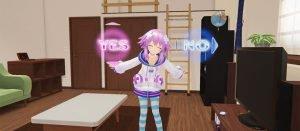 「新次元ゲイムネプテューヌVIIR」VRモードの遊び方!部屋のカスタマイズが可能!