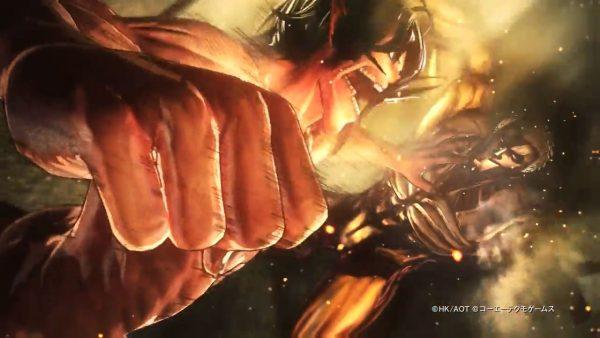 進撃の巨人 コエテク「進撃の巨人2」を発表!美麗なアクションゲーム、続編来たる