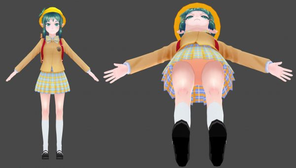 パンツ 3Dゲームの最大の素晴らしい点はパンツが見られたり、360度見回せること