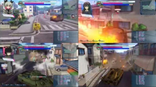 ガールズ&パンツァー ドリームタンクマッチ PS4版「ガールズ&パンツァー」試合プレイ動画「結構長そう」「コスト制っぽい」「大洗が高クオリティすぎる」