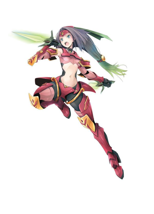 装甲娘, ダンボール戦機, DMM ダンボール戦機、DMMの力によって美少女化してしまう。【装甲娘】