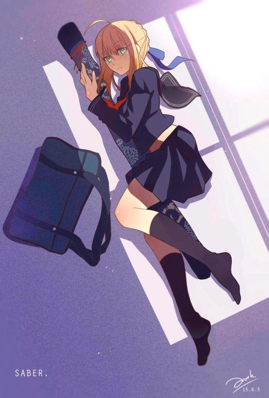学校, Fate Fateサーヴァントがもし学校に通っていたときの特徴考えてみた。