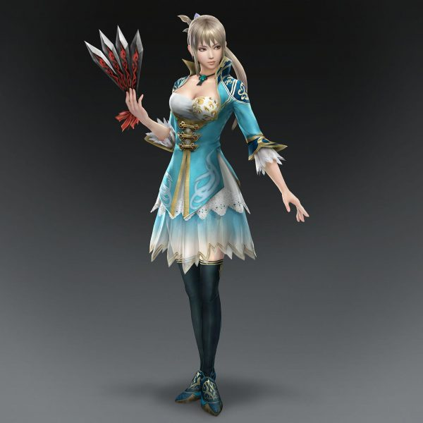 真・三國無双8, 王元姫, 女キャラ 無双8の王元姫のコスチュームはじめ、女性キャラの完成度高いよね。