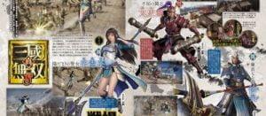 真・三國無双8新女性キャラクター「辛憲英」太もも生足出し 武器は「大鉞」