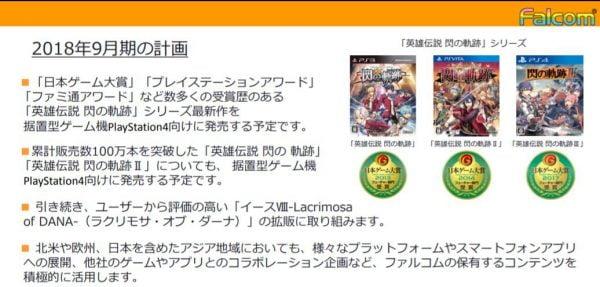 英雄伝説 閃の軌跡IV, PS4 「英雄伝説 閃の軌跡IV」は来年中に展開、PS4向けに1&2も発売されることが判明!