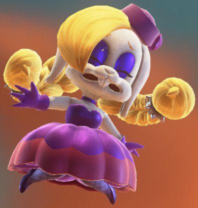 ハリエット, スーパーマリオオデッセイ スーパーマリオオデッセイの女うさぎボス、ハリエットちゃんがかわいいらしい!