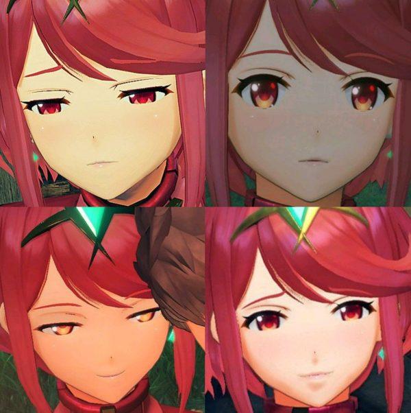 表情, ホムラ, ゼノブレイド2 ホムラちゃんのホムい表情が好きなんだ!【ゼノブレイド2】