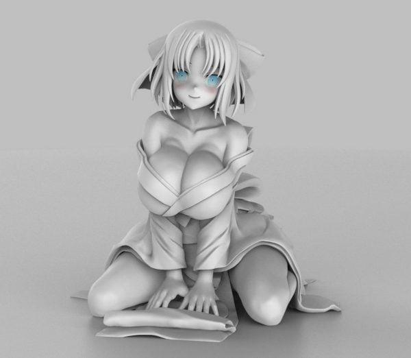 雪泉さんのプルクラ新作フィギュアのおっぱいが凄いらしい【閃乱カグラ】