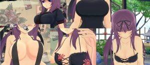 ゲーム3Dモデルの紫って明らかにおっぱい萎んでるよね?【閃乱カグラ】