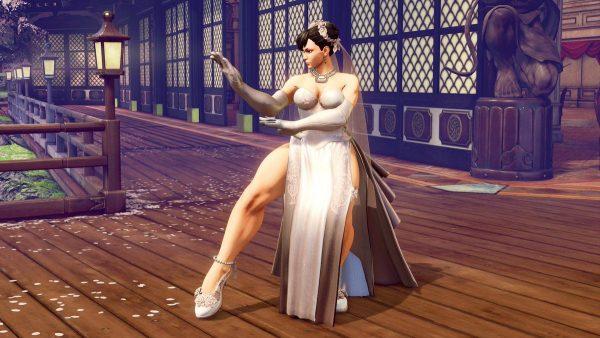 春麗, ストリートファイター5, ウェディングドレス 春麗がウェディングドレスを着た結果【ストリートファイターVコスチューム】