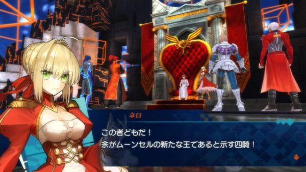 Fate/EXTELLA LINK Fate/EXTELLA LINK追加サーヴァント4名分のプロフィールや、本作の世界観とスクリーンショット