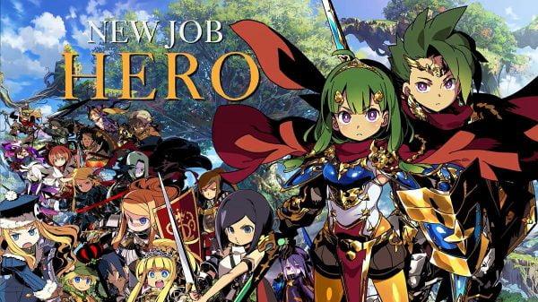 新職業, 世界樹の迷宮X, ヒーロー, 3DS 世界樹の迷宮Xが3DS最終作品として発売決定!職業に新職業「ヒーロー」全19種類
