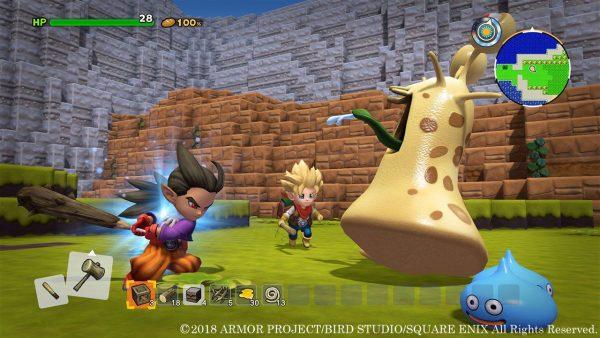 少年シドー, ドラクエビルダーズ2, DQB2 DQB2ドラクエビルダーズ2「少年シドー」ゲーム画面、ハイタッチしてるシーンなどもある