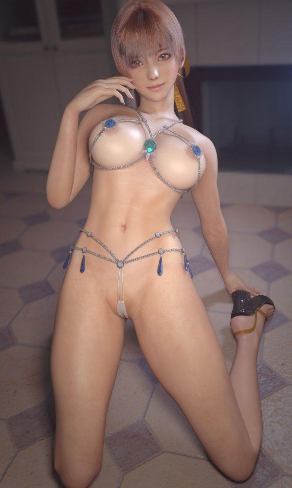 3D ちょっとクセがある3Dのこういうちょいエロ画像は好き?