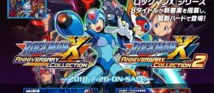 「ロックマンXアニバーサリーコレクション1+2」発売日が7月26日に決定!追加要素もある
