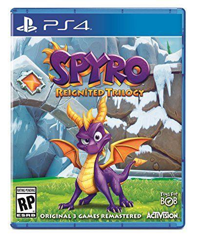 スパイロ・ザ・ドラゴン トリロジー, PS4 PS4向けにスパイロ・ザ・ドラゴン トリロジー、Amazonで確認される。