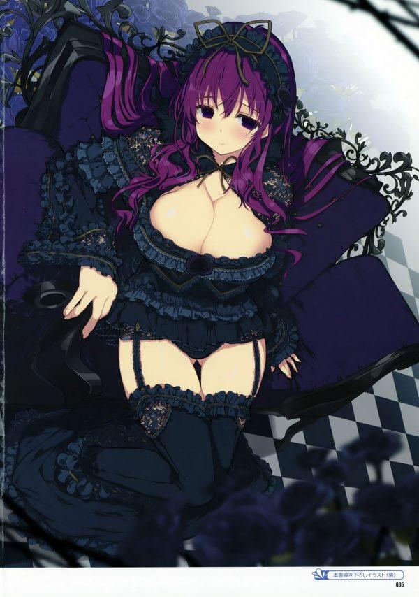 臭そう, 紫, おっぱい 紫「おっぱい100cm超え」「引きこもり臭そう」【画像多め】