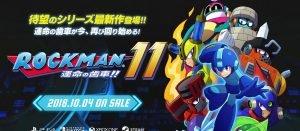 「ロックマン11 運命の歯車」発売日が10/4に決定、PV動画も公開へ