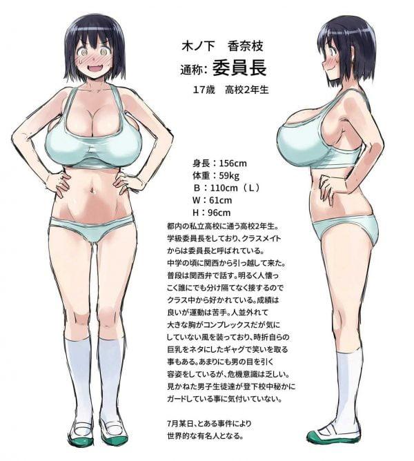 バストサイズ, おっぱい, 100cm おっぱいバストサイズ100cm超える爆乳女の子【画像多め】