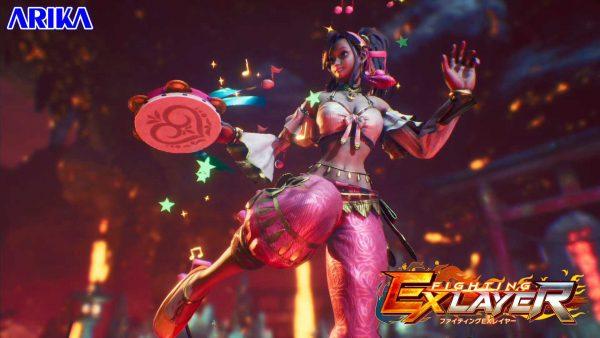 プルム・プルナ, FIGHTING EX 「 FIGHTING EX」褐色エロかわいいプルム・プルナなどが無料DLCとして参戦へ