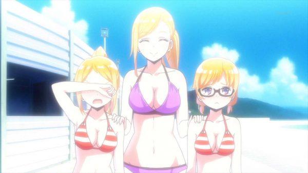 水着, はるかなレシーブ, お尻, おっぱい はるかなレシーブというおっぱい、お尻、水着!いっぱいエロいアニメ