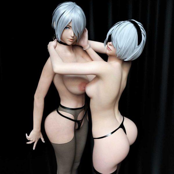 CG, 3D 3DモノのエロCGっていうのも結構いいと思ってるんだけど【画像】