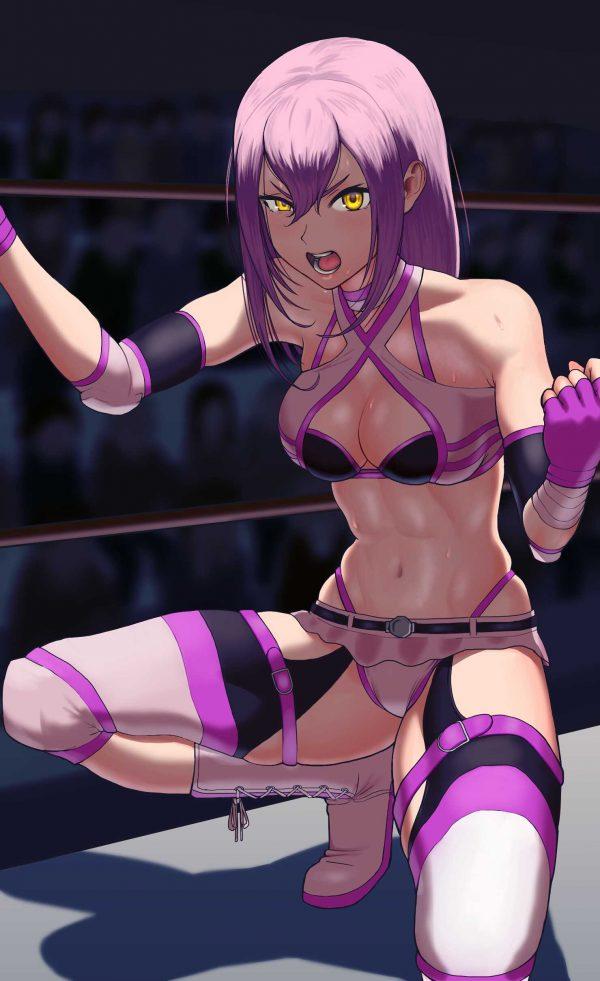 女子プロレス, 二次元 二次元の女子プロレスならばエロい目で見られる!って人いる?【画像】