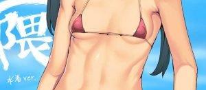 三隈さんのこの小ぶりな貧乳おっぱいが逆にエロいんだ【艦隊これくしょん】