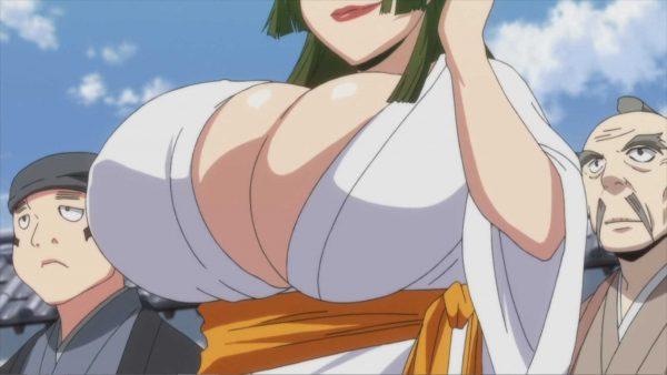 魔乳秘剣帖, おっぱい 魔乳秘剣帖という物凄いおっぱい見たいときにちょうど良いアニメ。