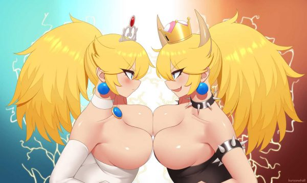 ピーチ, クッパ姫, クッパ クッパ姫こと、ピーチ化したクッパ見たけどエロいし人気出るの分かるわ【画像大量】