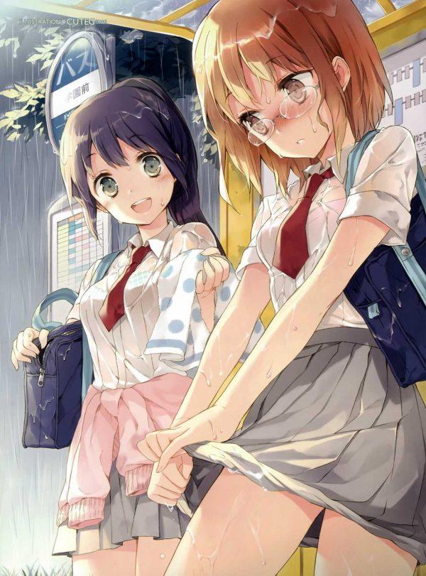 ずぶ濡れ ずぶ濡れになってる女の子のエロさってなんだろう?
