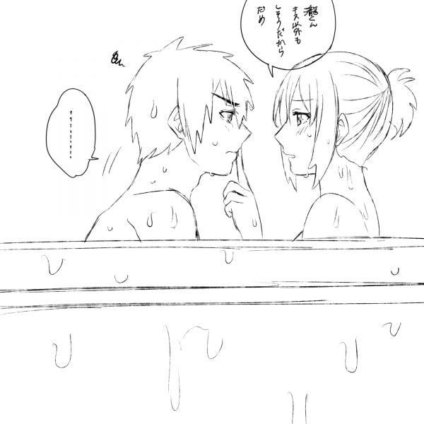 異性, 女の子, 一緒, お風呂 女の子が異性と一緒にお風呂に入ってる姿、セクシーでいいよね【画像大量】