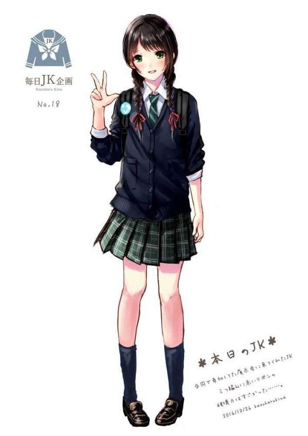 制服 女の子にとって一番のエロコスチュームは制服だよな?【画像多め】