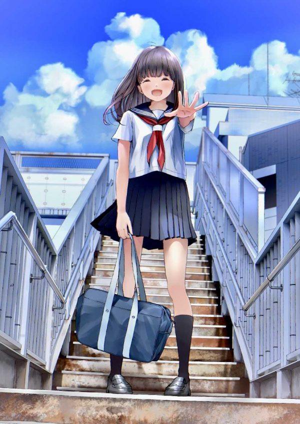 学生服, ハイソックス 学生服着てる女の子のハイソックスから漂うエロス【画像大量】