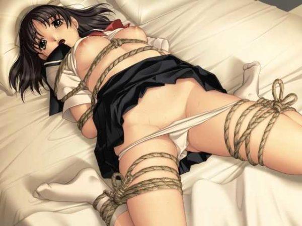 身動き取れない, 縄, 緊縛 縄で緊縛され、身動き取れない系女の子はエロい【画像】