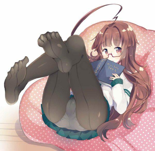 脚, タイツ タイツを履くだけで女の子の脚は数倍エロくなる【画像】